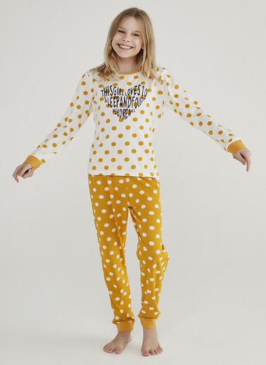 Penti Çocuk Point 2Li Pijama Takımı Beyaz